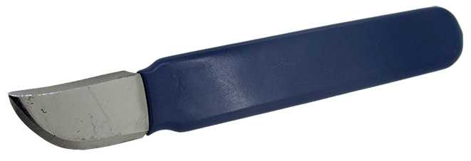 Fixed Blade, PVC Handle, Broad Blade