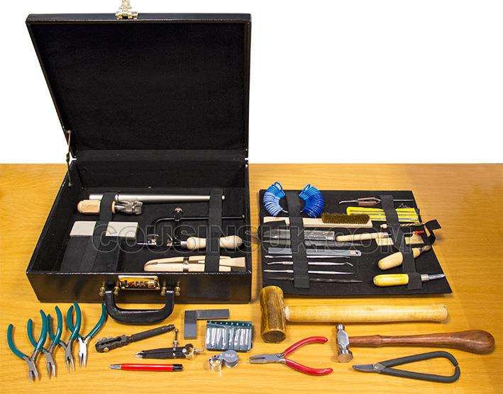 Jewellers Tool Kit in Leather Case