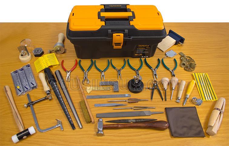 Jewellers Tool Kit in Tool Box