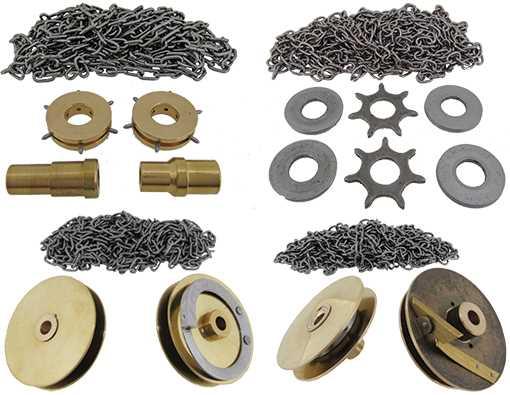 Conversion Chain Kits (Long Case)