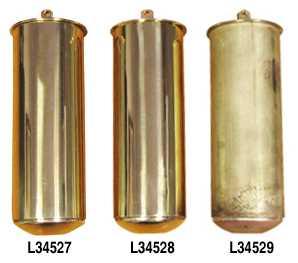 Longcase Weights & Shells, Brass