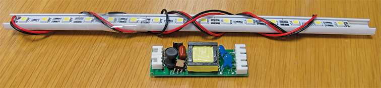 Spare LED Strip - Front