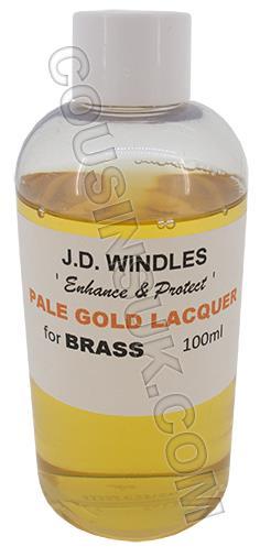 Brass (100ml) Pale, Windles