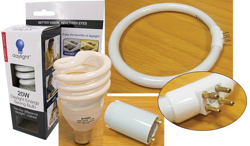 Lamp Bulbs, Tubes & Starters