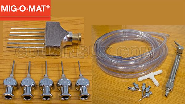 MIG.O.MAT Microflame Welder Accessories