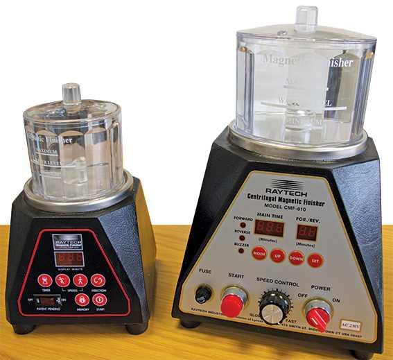 Magnetic Polishers, Ray Tech USA