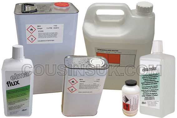 Micro Welder Chemicals