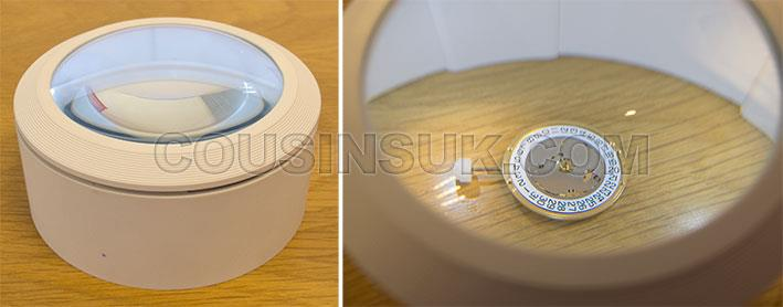 Bench & Table Top Magnifier with LED