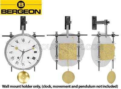 Bergeon 30044 Clock Movement Holder Wall-Mounted Swiss Made