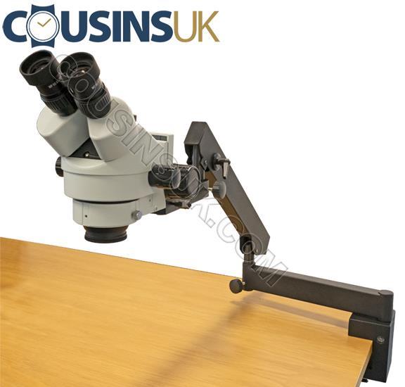 Cousins Trinocular Microscope