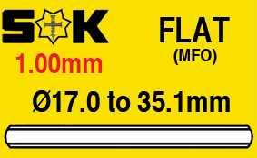 1.00mm (with Polished Bevel), Sternkreuz MFO