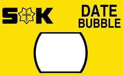 Mineral Date Bubble Magnifying Lens, Sternkreuz