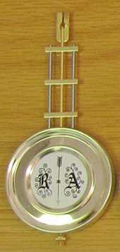 145 x Ø63mm (Stamped 21cm) Hermle Pendulum