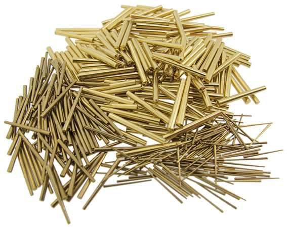 Brass Clock Pins, by Size