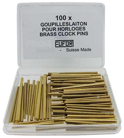 Brass Clock Pins, XL