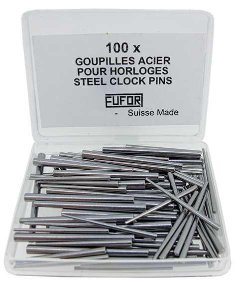Steel Clock Pins, XL