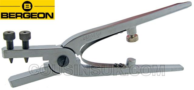 Hole (by Size) Punching Plier, Bergeon