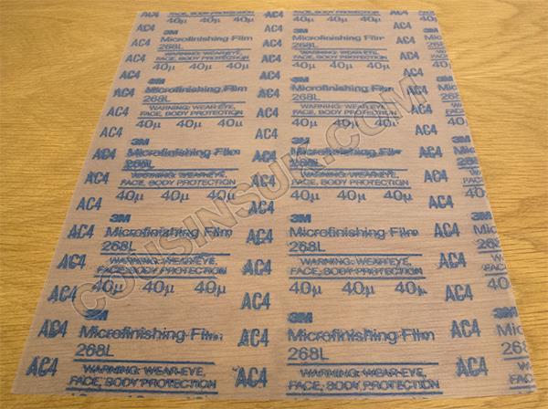 40 Micron (Grit 400, Blue)