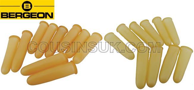 Finger Protectors - Rubber, Bergeon