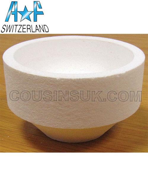 30ml (Ø64mm) Round Crucible, A*F Swiss
