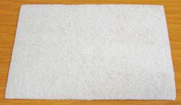 Non Scratch Hand Pad, White