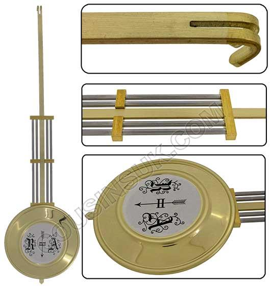 R&A (Gridiron) Brass, Hermle