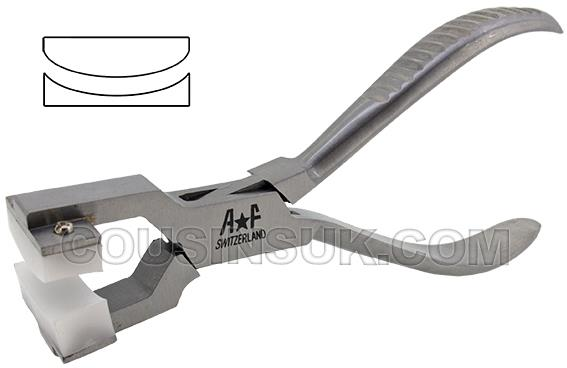 Curved Jaw Pliers (Nylon Jaws)