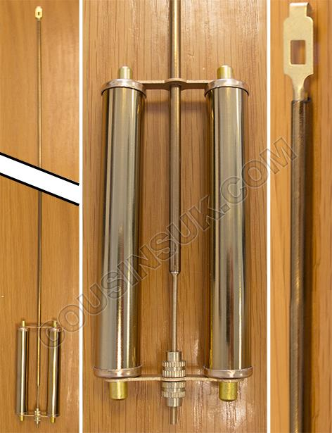 Cylinder (Double) Brass Aluminium, Chinese