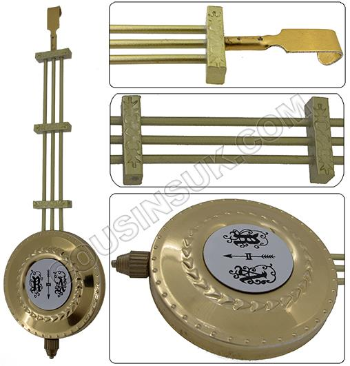 R&A (Gridiron) Brass Aluminium, Chinese