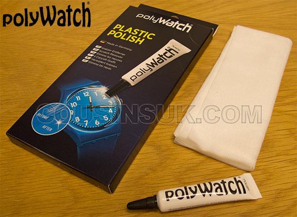 Acrylic Polish Tube & Cloth Set