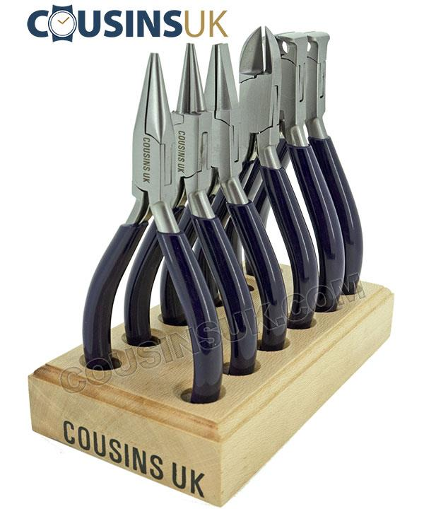 Cousins Swiss Style (Smooth & Cutters) on Stand (x6)