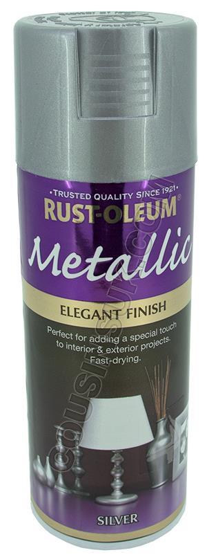 Silver Colour Spray Paint