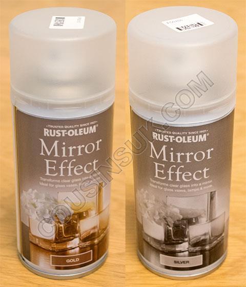 Mirror Effect Spray Paints