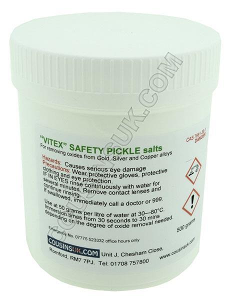 "Safety Pickle ""Vitex"" 500gm"