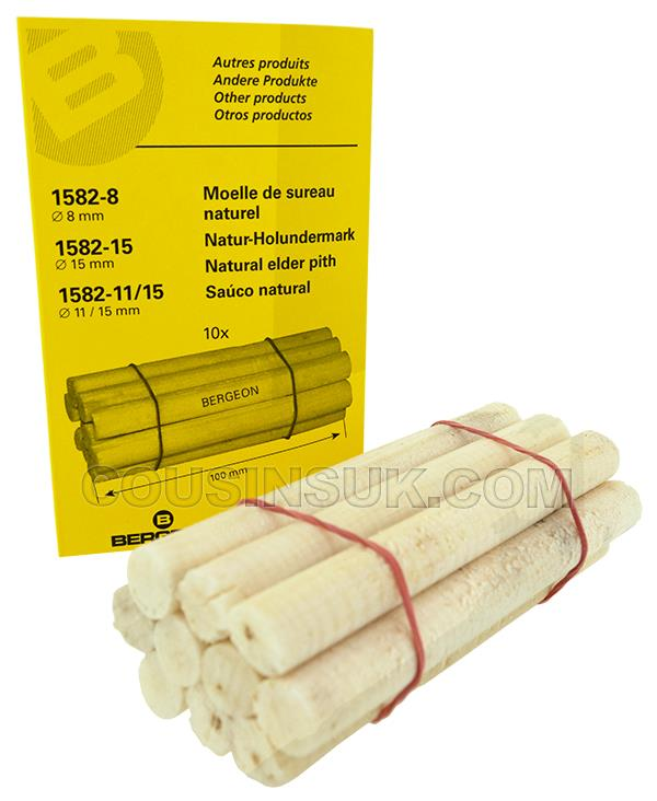 Ø11mm (100mm) Elder Pith Sticks