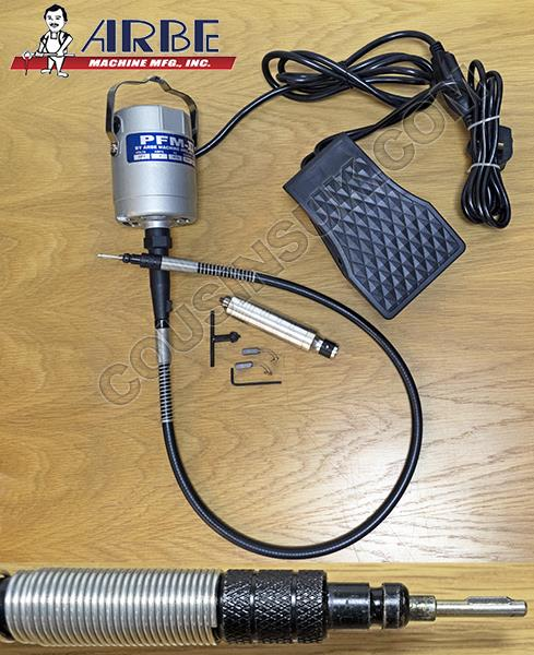 """Arbe Motor with """"3 Jaw"""" Handpiece"""