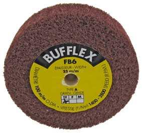 Very Fine (Ø100 x 25mm) Bufflex Wheel