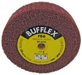 Fine (Ø100 x 25mm) Bufflex Wheel