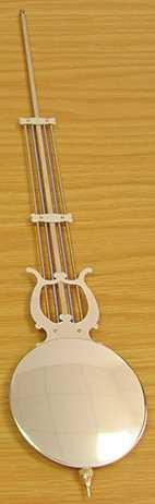 560 x Ø100mm (Stamped 66cm) Hermle Pendulum