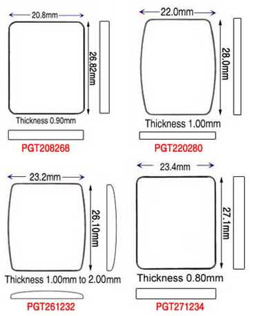Piaget Generic Glasses by size