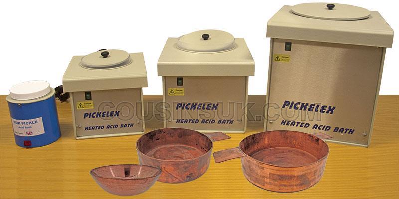 Pickling (Acid) Baths & Copper Pans