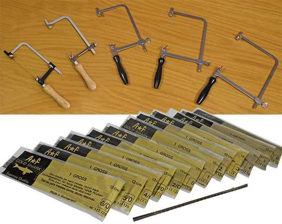 Saws Blades & Frames (Fret & Piercing)