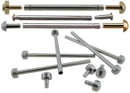 Fittings - Pressure Bars & Rivet Ends