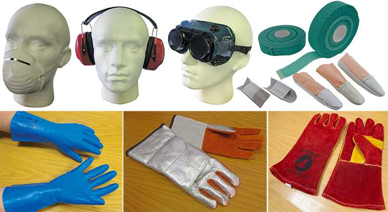 Protective Clothing & Equipment (PPE)