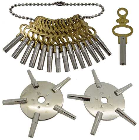 Pocket Watch Keys