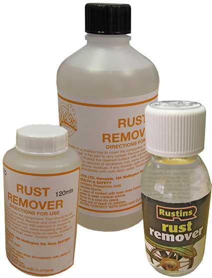 Rust Removing Fluid
