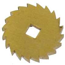 Ø15mm Brass Ratchet Wheel