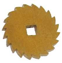 Ø17mm Brass Ratchet Wheel