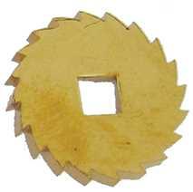 Ø18mm Brass Ratchet Wheel