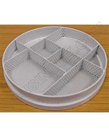 Tray, 8 Section (RC)